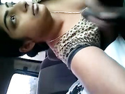 indian wife awesome bj in car