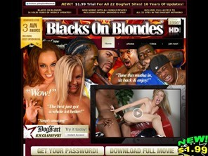 Popular Black On Blondes Videos