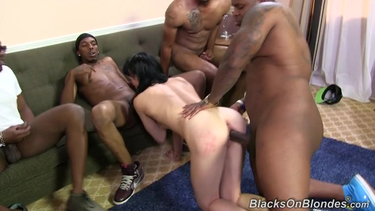 Free Black On Blondes Porn Videos: Black Fucks White, Interracial ...