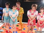 Rina Kitahara, Nana Mizuno, Nanami Kurasawa and Yumiko Anzai are superhot chicks who star in this strange dream-like episode