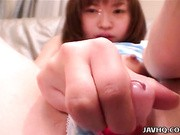 Itsuki Wakana gets her just desserts as sex toys are crammed into her coochie! Watch this manipulative cunt get punished as her pussy becomes the center of our pleasure
