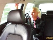 It was just a normal day for this young blonde visiting her friends, until of course she got in my taxi