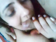 newly married lko bhabhi sherin bj