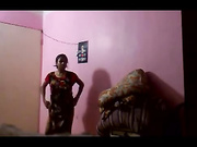 south bhabhi changing in bedroom