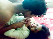 indian honeymoon couple foreplay