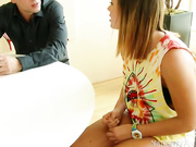 Keisha Grey needs some help with her math homework and she's heard that her friend's brother, Alan, is great with math