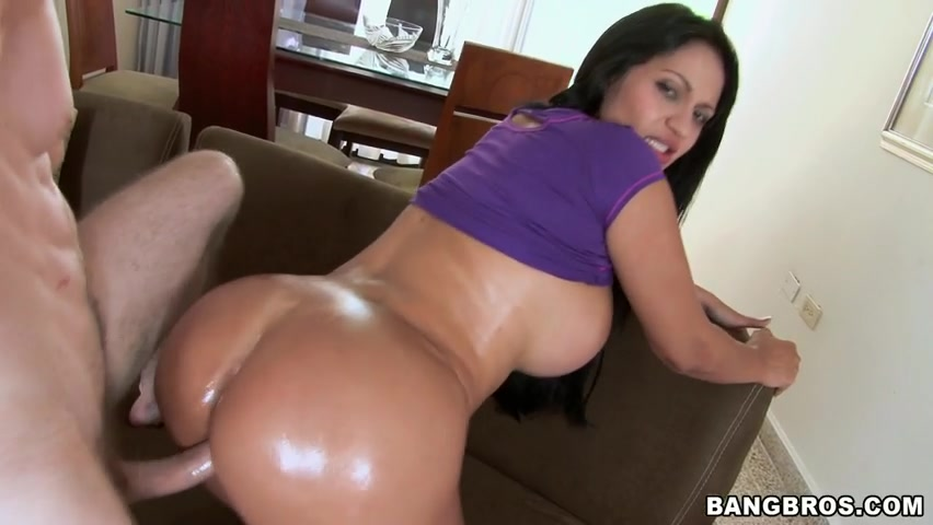 Her Oily Maxican Behind Is Asking For Dirty Action