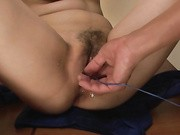 hot bukkake asian girl miho tsujii masturbates