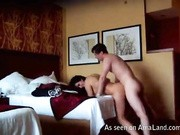 Stunning amateur wife shows how to delight an eager stud's dick