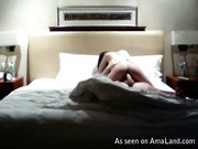 Camera picks up these two having a fucking good time on the bed