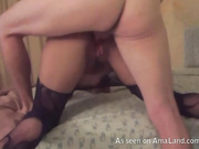anal horny anal slut in stokings hot sex