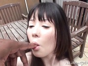 Japanese AV Model is a naughty and dirty chick!