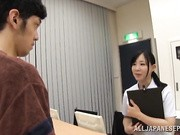 Japanese AV Model is a lusty Asian nurse