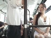 Tits groping asian