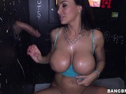 Lisa Ann is a dirty milf, and she proves it in this episode of Glory Hole Loads!