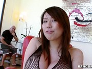 Tiger Benson is a gorgeous Asian with huge tits!