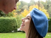 Two people meet in the park. She gives him a blow job he'll never forget.