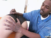 Jaslin Diaz Gets Her First Taste Of A Monster Cock