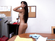 New maid cleans and gets fucked