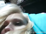 pov oral very cute blonde petite shaved great bj