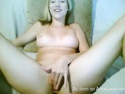 owm go hot blonde toys pussy play on webcam ama