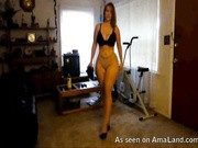 milf with huge ass and sexy curves webcam show strip
